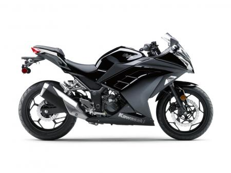 2013 Kawasaki Ninja 300 Profile Right Black