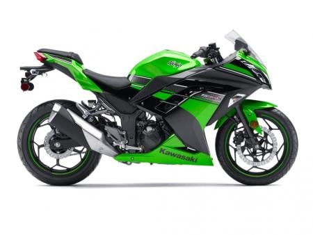 2013 Kawasaki Ninja 300 Profile Right Green