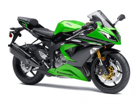 2013 Kawasaki Ninja ZX-6R Front Right