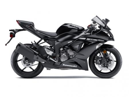 2013 Kawasaki Ninja ZX-6R Profile Right Black