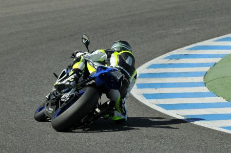 2013 BMW S1000RR HP4 Cornering