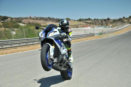2013 BMW S1000RR HP4 Wheelie