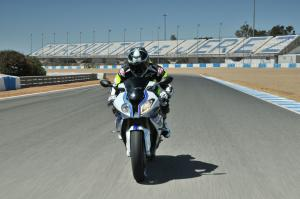 2013 BMW S1000RR HP4 Front