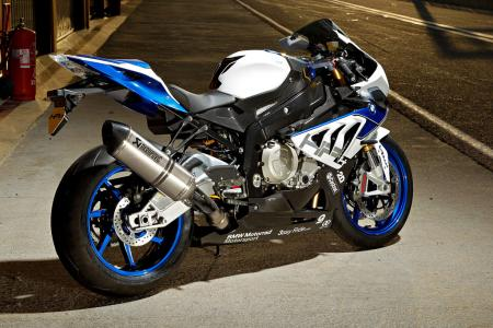 2013 BMW S1000RR HP4 Right Side