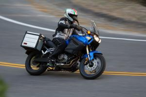 2012 Adventure Touring Shootout Yamaha Super Tenere Action Road