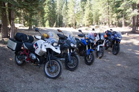 2012 Adventure Touring Shootout Group