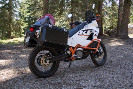 2012 Adventure Touring Shootout KTM 990 Adventure