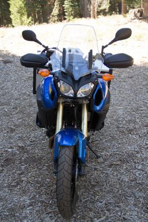 2012 Adventure Touring Shootout Yamaha Super Tenere Front