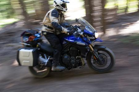 2012 Adventure Touring Shootout Triumph Tiger Explorer Right Side