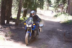 2012 Adventure Touring Shootout Yamaha Super Tenere Action Dirt