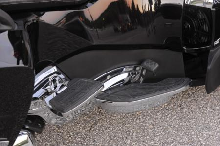 2013 Can-Am Spyder Footrests
