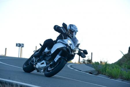 2013 Ducati Multistrada 1200 Cornering Left