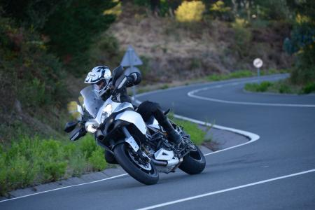 2013 Ducati Multistrada 1200 Cornering Right