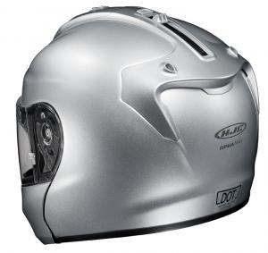 HJC RPHA MAX Silver Left Rear