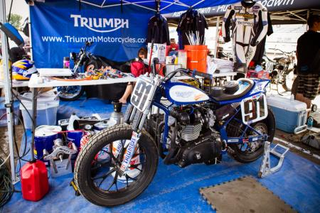 Bonneville Performance Triumph