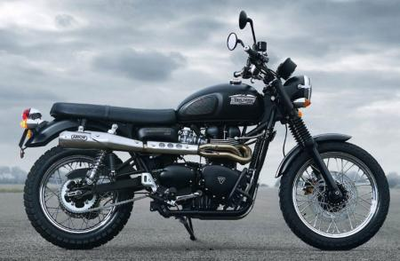 2012 Triumph Scrambler with Accessory Exhaust