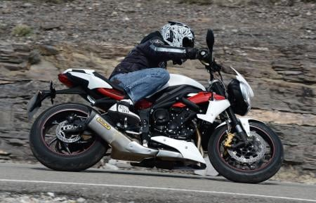 2013 Triumph Street Triple R Right Side
