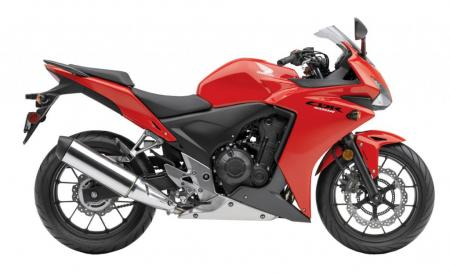 2013 Honda CB500R ABS Red