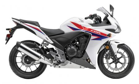 2013 Honda CB500R White Blue Red