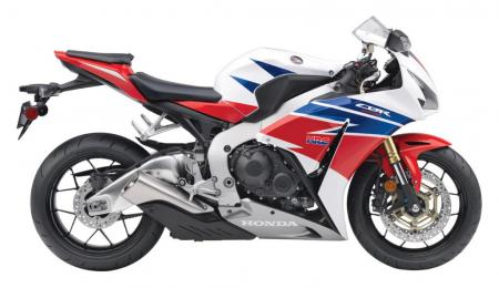 2013 Honda CBR1000RR White Blue Red