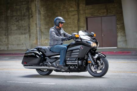 2013 Honda GoldWing F6B Action Black