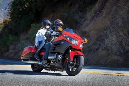 2013 Honda GoldWing F6B Action Deluxe Red Right