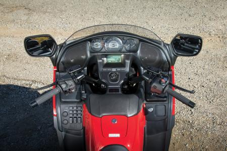 2013 Honda GoldWing F6B Cockpit