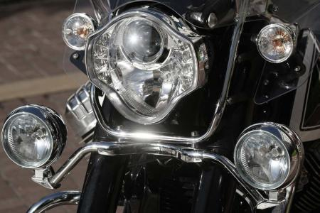 2013 Moto Guzzi California 1400 Touring Ambassador Headlight