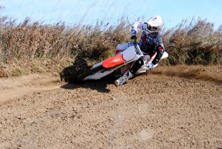 2013 Honda CRF450R Action 04