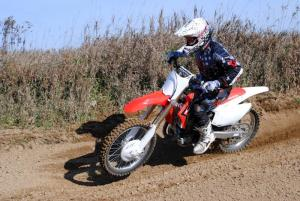 2013 Honda CRF450R Action Left
