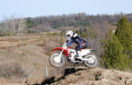 2013 Honda CRF450R Action 12