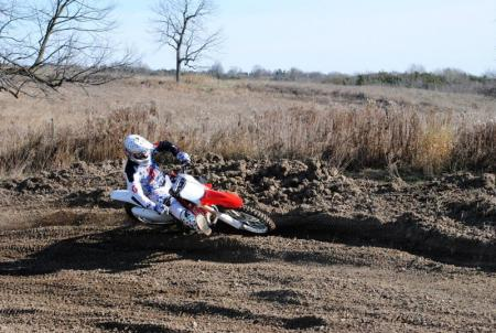 2013 Honda CRF450R Action 15