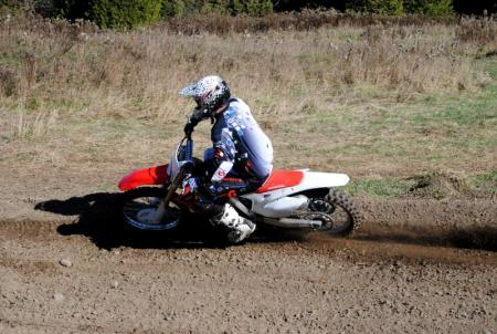 2013 Honda CRF450R Action 16