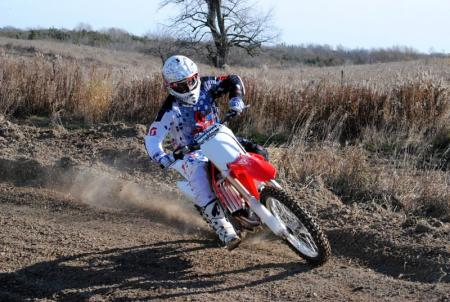 2013 Honda CRF450R Action 17