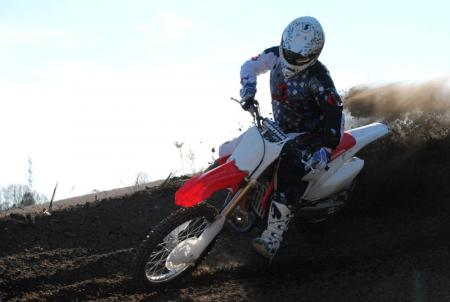 2013 Honda CRF450R Action 18