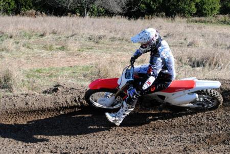 2013 Honda CRF450R Action 28