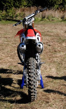 2013 Honda CRF450R Rear