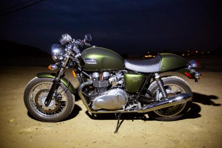 2013 Triumph Thruxton Profile Left