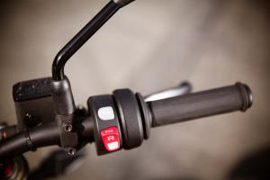 2013 Brammo Empulse R right handlebar