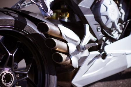 2013 MV Augusta F3 675 exhaust