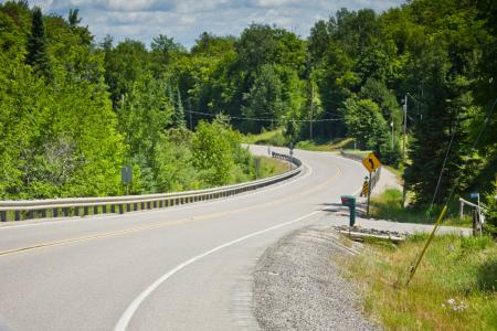 Perfect Motorcycle Roads in Ontario