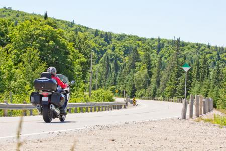 Motorcycle Touring in Ontario