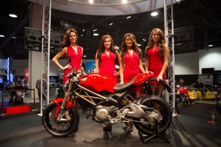 2012 Long Beach IMS Ducati Monster 20th Anniversary Edition