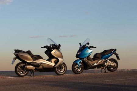 2013 BMW C650GT and C600 Sport