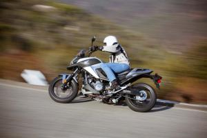 2012 Honda NC700X Action Cornering