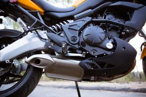 2012 Kawasaki Versys Engine and Exhaust