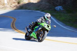 2013 Oddball Sportbike Shootout Action Front Right