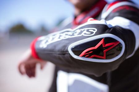 Alpinestars Atem Leathers Elbow