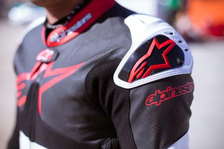 Alpinestars Atem Leathers Shoulder