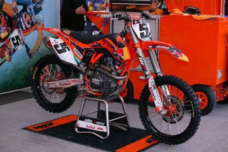Ryan Dungey KTM 450SX Air Shock